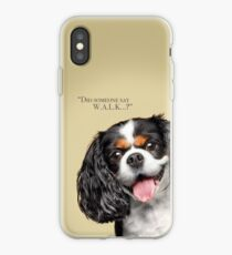 Curious and Cute Cavalier King Charles Spaniel iPhone Case