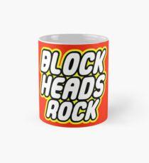 BLOCK HEADS ROCK Mug