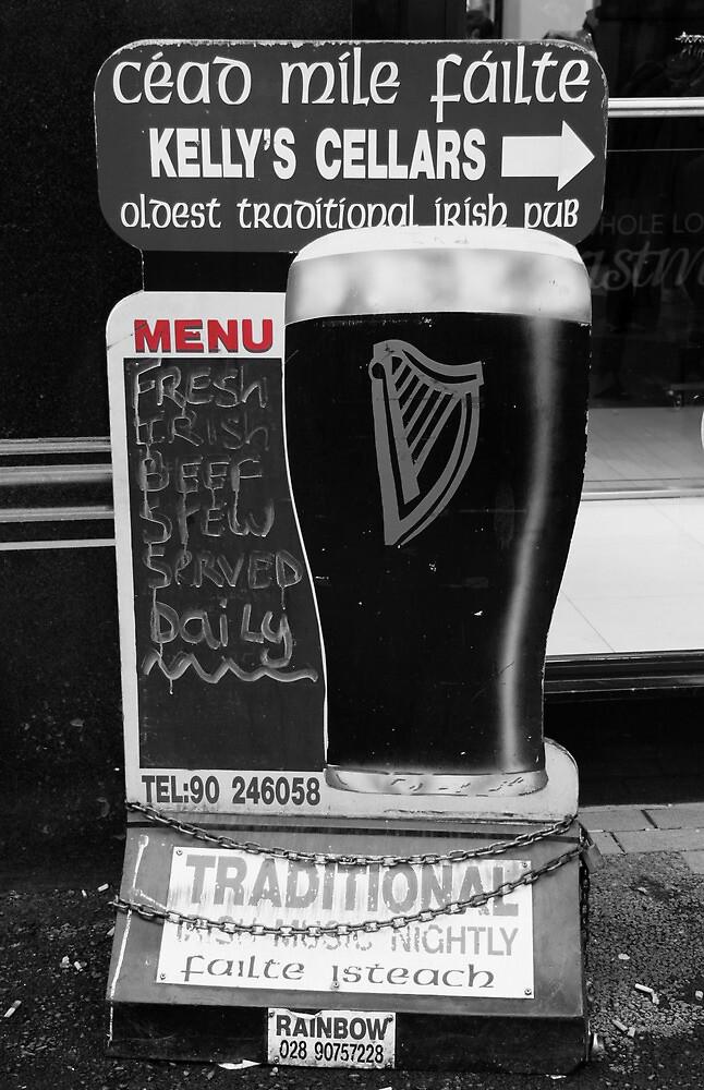 Belfast 6.12.09 - Menu by SNAPPYDAVE