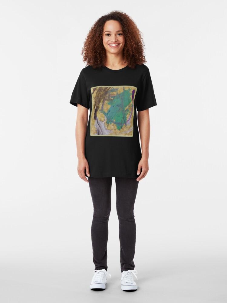 Alternate view of Purple Road Runner Slim Fit T-Shirt