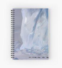 Emperor Penguins & Iceberg Spiral Notebook