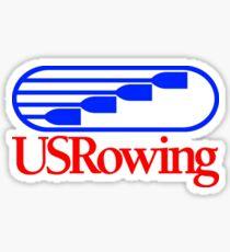 Team USA US Ruderteam Sticker