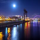 Night on the Clyde 2 by Cat Perkinton