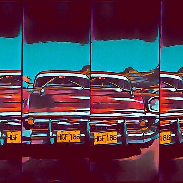 Cuban Car by iamsla
