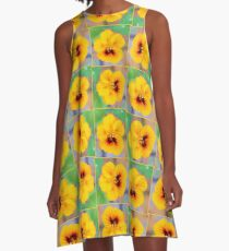 November Nasturtium A-Line Dress