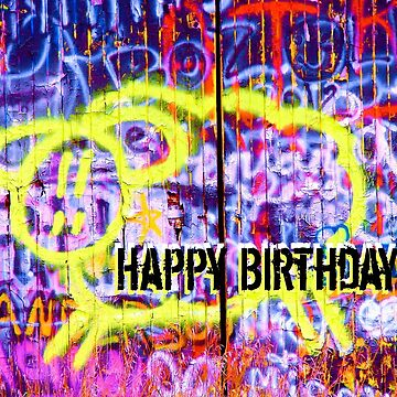 Birthday Graffiti Sheep by angelandspot