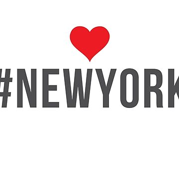Love Hashtag New York #newyork sticker by reallsimplelife