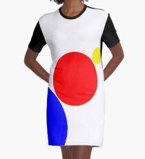 Kreiskunst T-Shirt Kleid