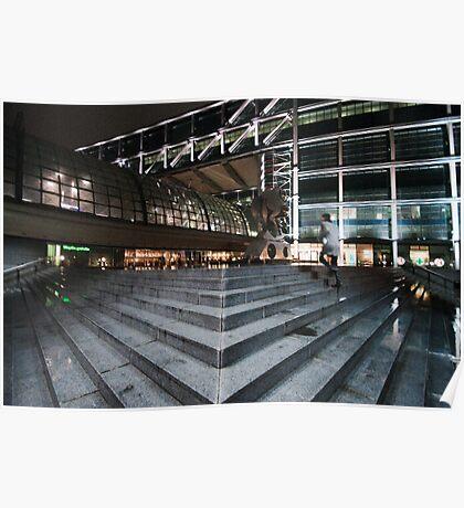 Berlin Hauptbahnhof Poster