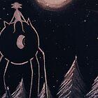 Moonlight Walk by JennyRedHolms