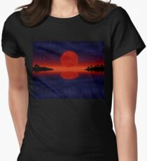 Mars next to Earth Women's Fitted T-Shirt