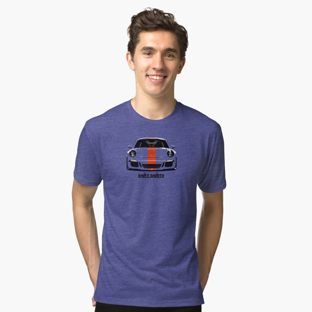 99Won RS - GT3 RS Inspired Tri-blend T-Shirt Front