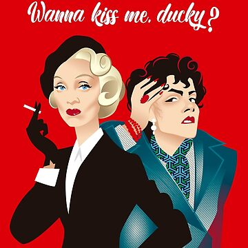 Wanna kiss me ducky? by AleMogolloArt