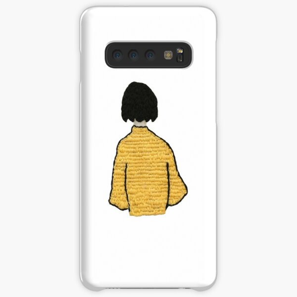 embroidered girl Samsung Galaxy Snap Case