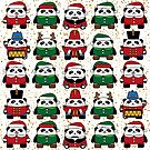 Santa Clause Festive Christmas Design by Nightingaled