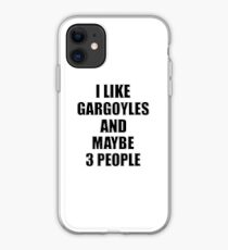 GARGOYLES Lover Funny Gift Idea I Like Hobby iPhone Case