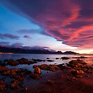 Sunrise, Kaikoura, New Zealand by kristinagav