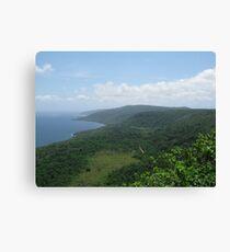 View from Margaret Knoll - Christmas Island Leinwanddruck