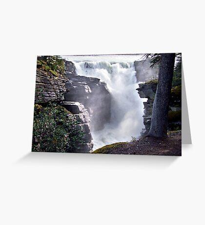 Athabaska Falls(2) Greeting Card