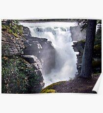 Athabaska Falls(2) Poster