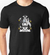 Lawton Coat of Arms - Family Crest Shirt Unisex T-Shirt