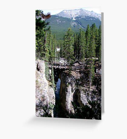A Wilderness Bridge Greeting Card