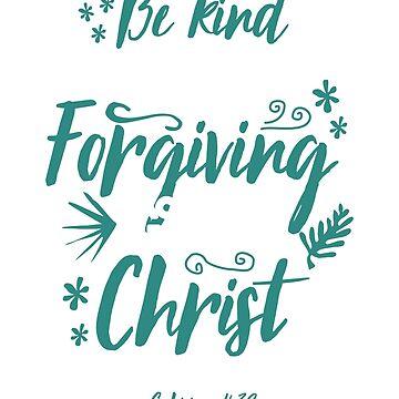 Christian t-shirts, Ephesians 4:32 Shirts, Jesus Christ Forgiveness Gift Tee by teesogram