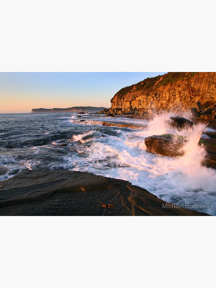 Terrigal Cliffs Assaulted, NSW, Australia by Chockstone
