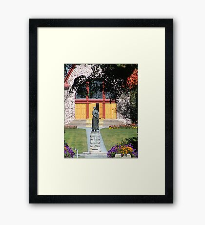 Grand Pre and Evangeline Framed Print