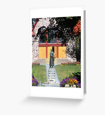 Grand Pre and Evangeline Greeting Card
