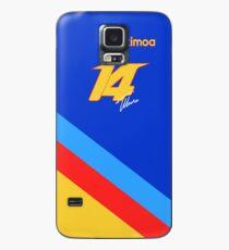 Fernando Alonso # 14 Dernière édition spéciale du GP Coque et skin Samsung Galaxy