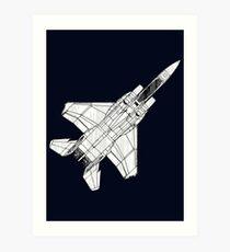 F 15 Eagle Fighter Plane Art Print