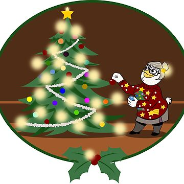 Bentina Beakley - Christmas tree by MonkeyLi