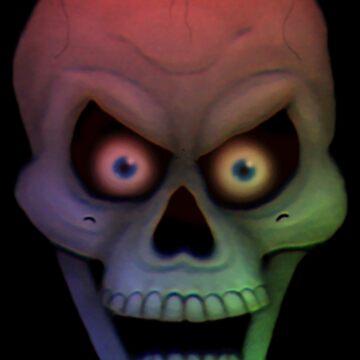 Mood Lighting Skull by MalcolmKirk