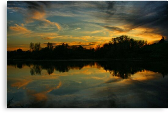 Sky and Water by Barbara  Brown