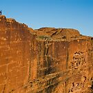 The Canyon Wall - Kings Canyon by Dilshara Hill