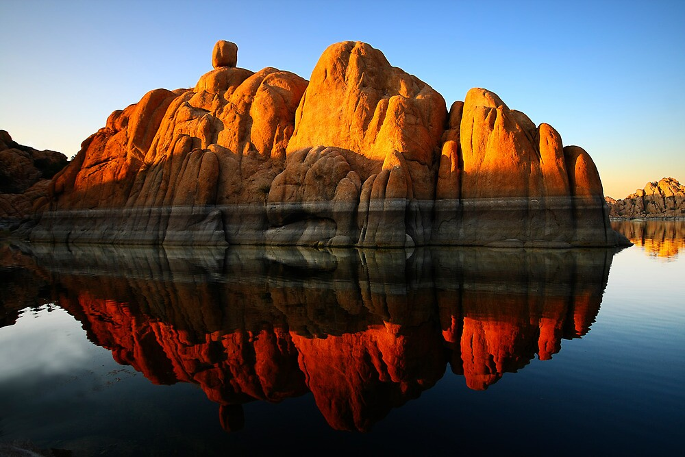 Reflection Rock by Bob Larson