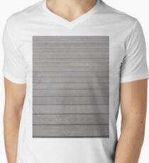 #Plank,  #Wood, #Stamford, #StamfordCity, #winter, #nature, #snow, #frost, #outdoors, #icee #cold, #wood, #season, #bird, #tree, #frozen, #dry, #garden, #grass, #weather, #horizontal, #colorimage Men's V-Neck T-Shirt