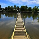 Pier to nowhere by Judith Cahill