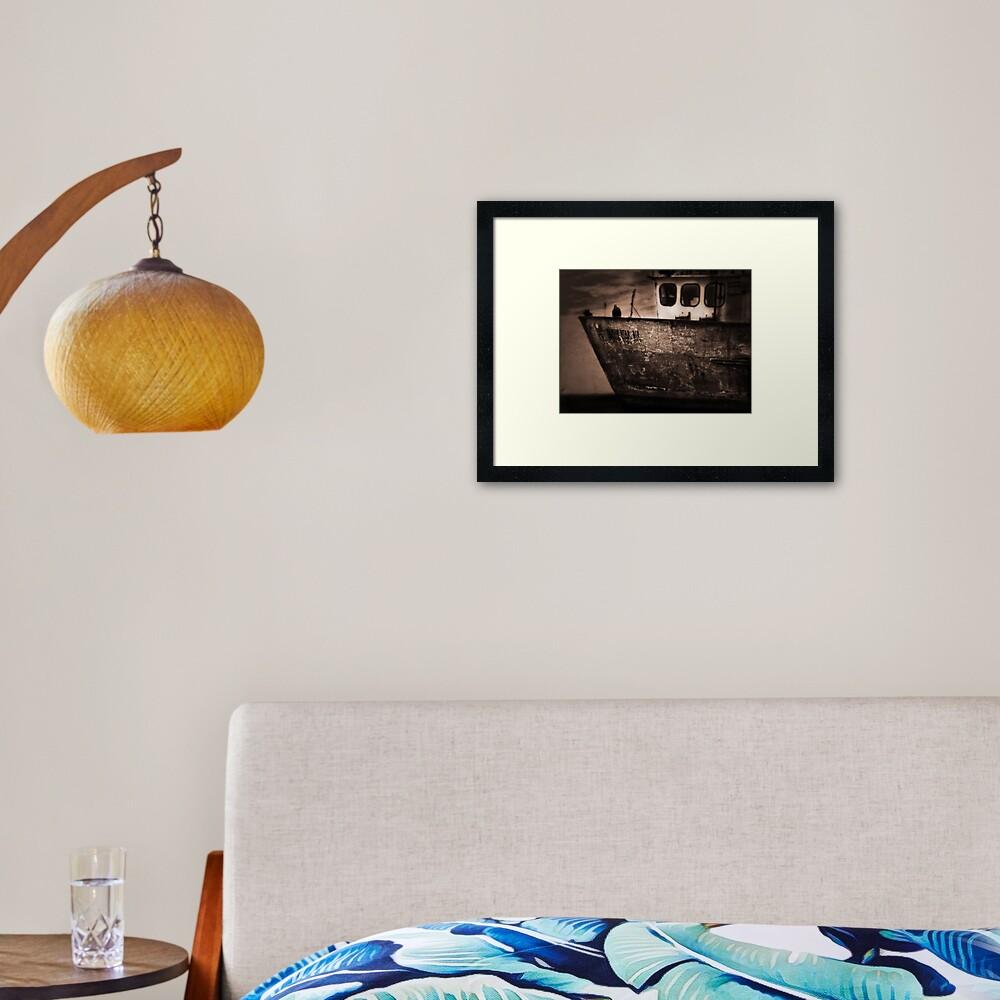 Tamar Star 2 Framed Art Print