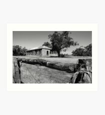 Old Building - Arthur River Art Print
