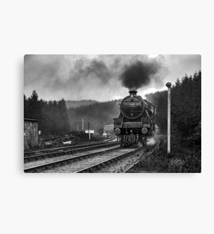 The Lancashire Fusilier Canvas Print