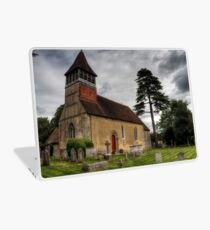 the Church at Martyr Worthy, Hampshire Laptop Skin