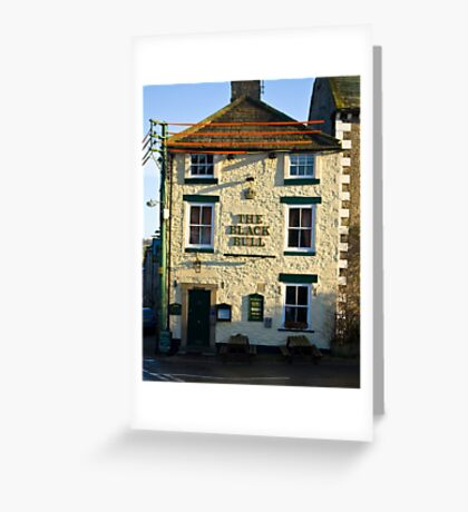 The Black Bull - Middleham Greeting Card