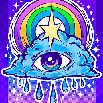 Rainbow Eye by retkikosmos