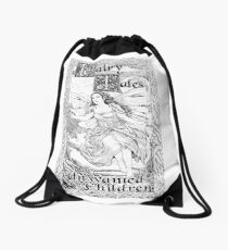 Fairy B - Fairy Tales for Unwanted Children Drawstring Bag