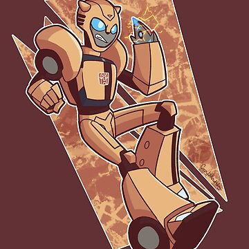 Transformers: Animated - Bumblebee by Galaxxi