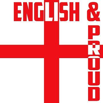 England Flag by Tina-Maria