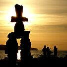 Inukshuk - Vancouver Canada by MaluC