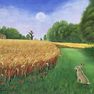 Hare's Path to the Moon by Tamara Clark